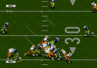 College Football's National Championship (Prototype, 19940525), Sega, 1994